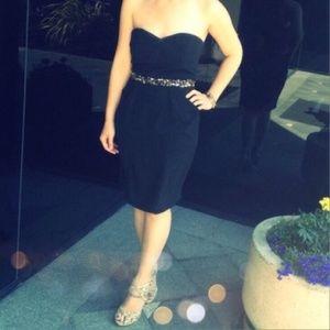 Little Black Dress Strapless LBD